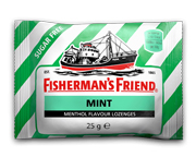 FISHERMANS FRIEND PASTILLAS MENTOL SIN AZUCAR 20 U MINT